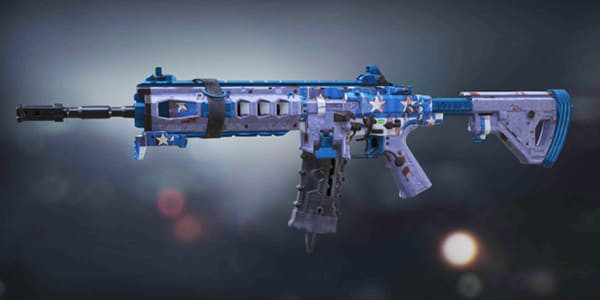 Persisted ICR-1 Skin in Call of Duty Mobile.