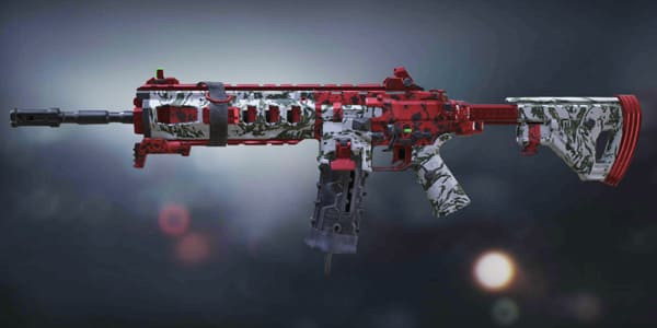 Skulls & Blood ICR-1 Skin in Call of Duty Mobile.