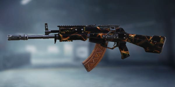 COD Mobile KN-44 Skin: Graceful Gold - zilliongamer