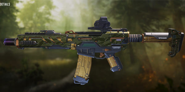 Call of Duty Mobile LK24 skin: Backwoods - zilliongamer
