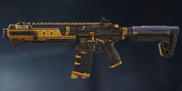 M4 Black Gold Skin in Call of Duty Mobile.