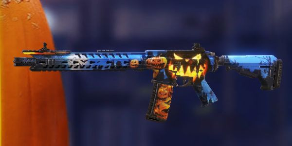 M4 Hallooween Skin in Call of Duty Mobile - zilliongamer
