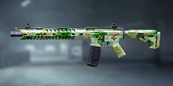 COD Mobile M4 Skin: St. Patrick's Day - zilliongamer