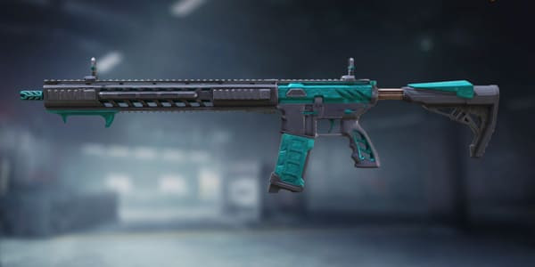COD Mobile M4 Skin: Teal Seal - zilliongamer