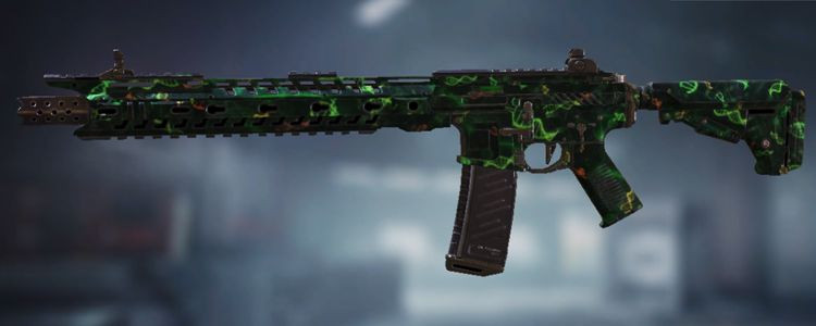M4 skins Zombie Gene in Call of Duty Mobile. - zilliongamer