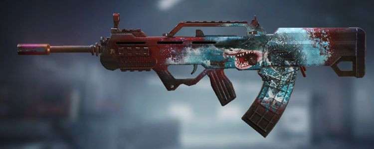 Type 25 skins Deep Shark in Call of Duty Mobile. - zilliongamer