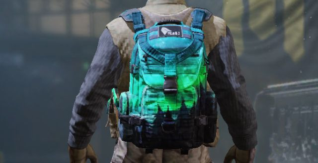 Backpack Skin Aurora Borealis in Call of Duty Mobile - zilliongamer