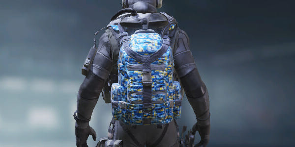 COD Mobile Backpack Blue Camo skin - zilliongamer