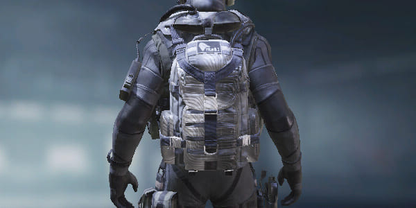 COD Mobile Backpack Chrome Wave skin - zilliongamer