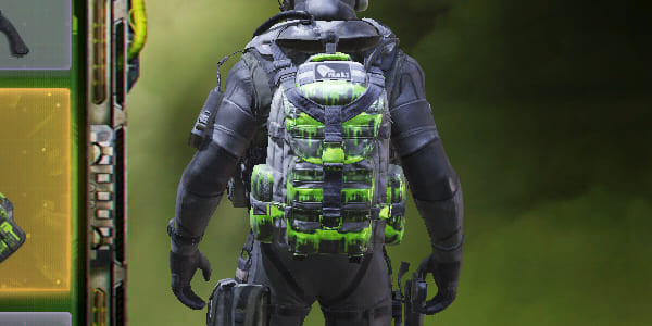 COD Mobile Backpack Contamination skin - zilliongamer