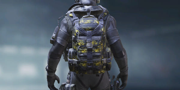 COD Mobile Backpack Worn Yellow skin - zilliongamer
