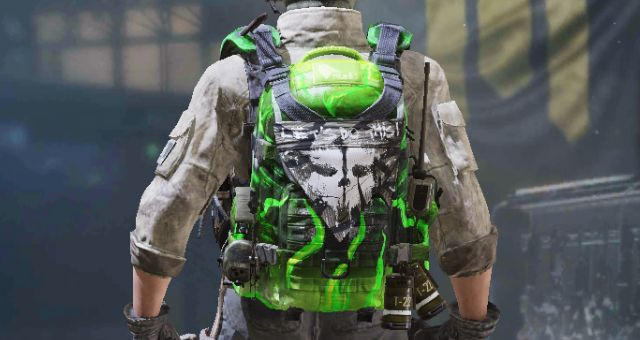 Backpack skin: G-Series in Call of Duty Mobile - zilliongamer