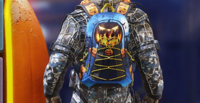 Backpack Skin Halloween in Call of Duty Mobile - zilliongamer