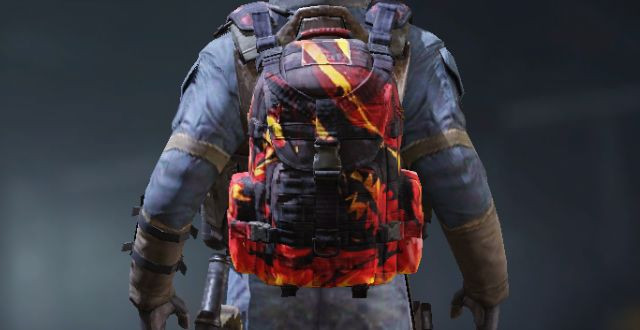 Backpack Skin Red Dragon in Call of Duty Mobile - zilliongamer