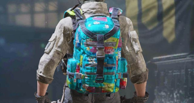 Backpack skin: Tropical in Call of Duty Mobile - zilliongamer