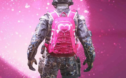 COD Mobile Backpack Valentine Draw skin - zilliongamer