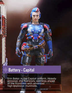 COD Mobile Character skin: Battery - Capital - zilliongamer