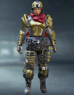 COD Mobile Character skin: Battery Queens Guard - zilliongamer