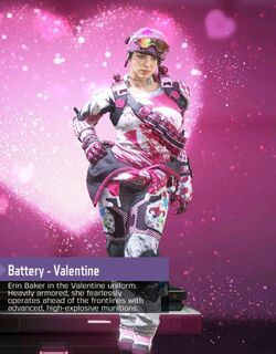 COD Mobile Character skin: Battery - Valentine - zilliongamer