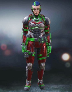 COD Mobile Character skin: Battery - Wasteland Warrior - zilliongamer