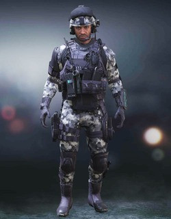 COD Mobile Character skin: Captain Arctic Blizzard - zilliongamer