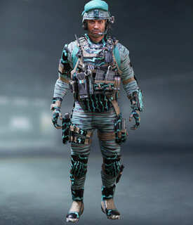 COD Mobile Character skin: Captain - Crossed Cables - zilliongamer