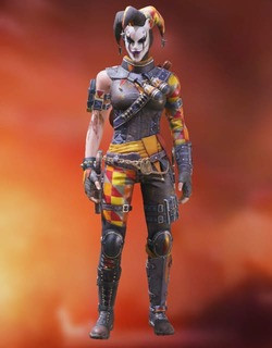 COD Mobile Character skin: Death Angle Alice - The Fool - zilliongamer