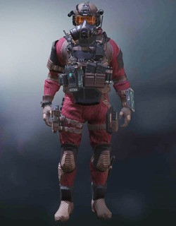 COD Mobile Character skin: Elite PMC - Red Curtain - zilliongamer