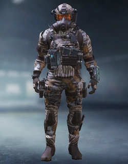 COD Mobile Character skin: Elite PMC - Woodland - zilliongamer