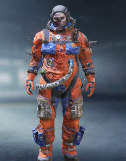 COD Mobile Character skin: Firebreak - The Astronaut - zilliongamer