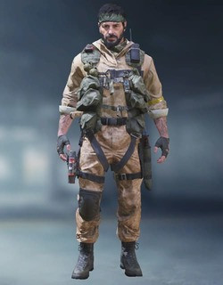 COD Mobile Character skin: Frank Woods - zilliongamer