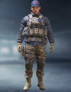 COD Mobile Character skin: Gaz - Broadsword - zilliongamer