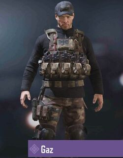 COD Mobile character: Gaz - zilliongamer