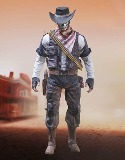 COD Mobile Character skin: Seraph - Ghost Cowboy - zilliongamer