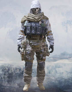 COD Mobile Character skin: Ghosot - Dark Vision - zilliongamer