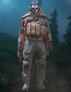 COD Mobile Character skin: Ghost - Jawbone - zilliongamer