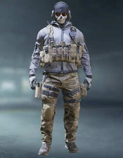 COD Mobile Character skin: Ghost - Loose Ends - zilliongamer