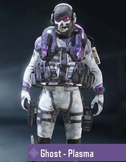 COD Mobile character: Ghost - Plasma - zilliongamer