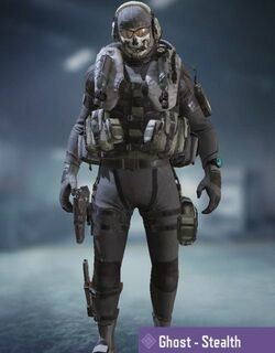 COD Mobile character: Ghost - Stealth
