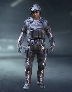 COD Mobile Character skin: Javier Salazar - Airstrike - zilliongamer