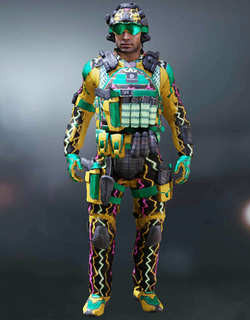 COD Mobile Character skin: Javier Salazar - Static Electricity - zilliongamer