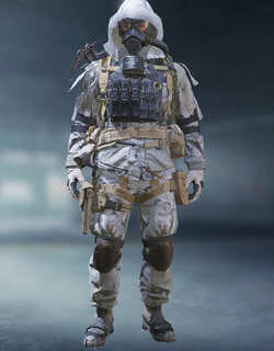COD Mobile Character skin: Kreuger - Taiga - Piercing Frost - zilliongamer
