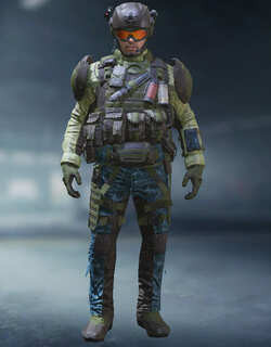 COD Mobile Character skin: Merc 2 - Copilot - zilliongamer