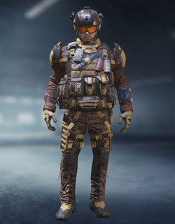 COD Mobile Character skin: Merc 2 - Desolate - zilliongamer