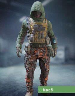 COD Mobile character: Merc 5