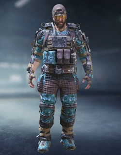 COD Mobile Character skin: Nomad - Lattice - zilliongamer