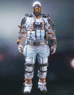 COD Mobile Character skin: Nomad - Snowblind - zilliongamer
