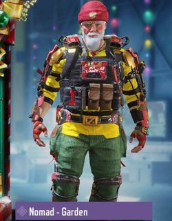 COD Mobile character: Normad - Garden - zilliongamer