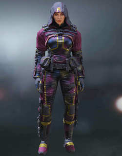COD Mobile Character skin: Outrider Arctic Dark Strobe - zilliongamer