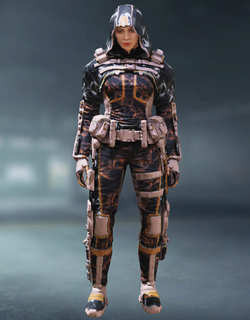 COD Mobile Character skin: Outrider Arctic Radio Current - zilliongamer